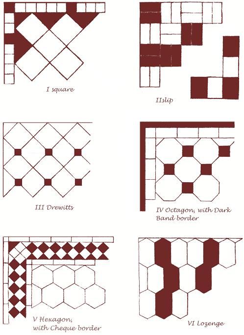 Handmade Floor Tile Patterns Aldershaw Handmade Tiles